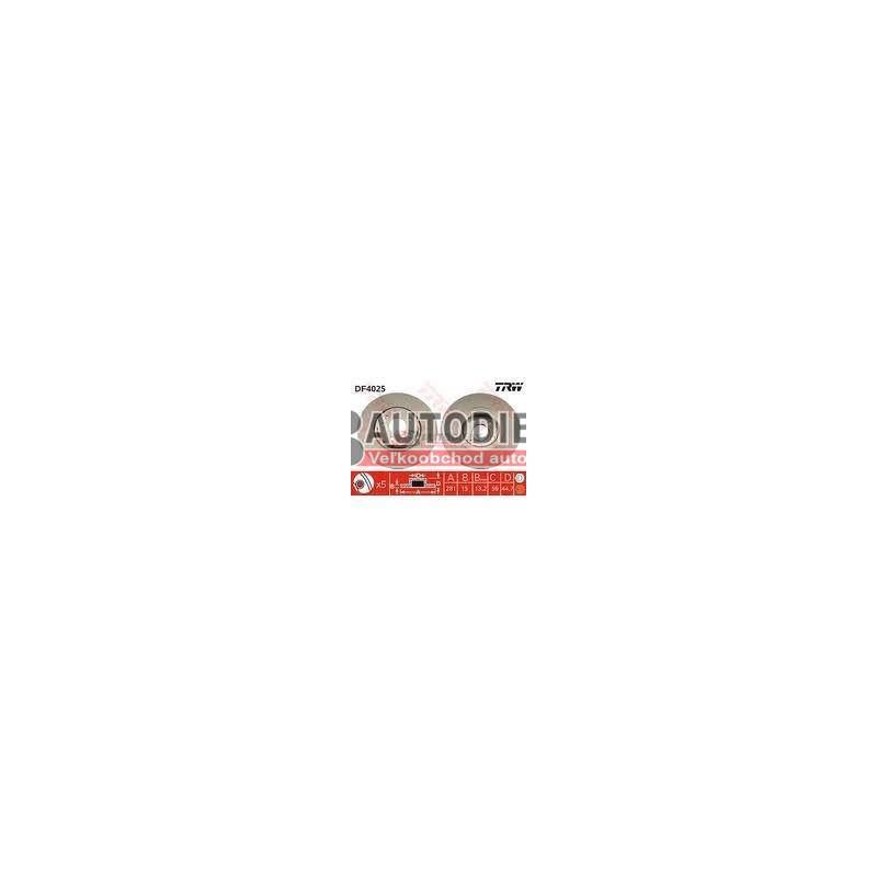 ALFA ROMEO 156 10/97-8/03-SADA Predné kotúče L+P /TRW/