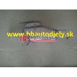 OPEL ASTRA G 1/98-2/04-Zadný diel výfuku 1,7TD/DTI-2,0DTI /50-55-74KW/ HB