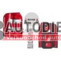 Audi A2 9/00- Zadné svetlo Lavé