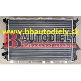 Audi 100 12/90-9/94- Vodný chladič /2,0i-2,2i-2,3i-2,4D-2,5TD/