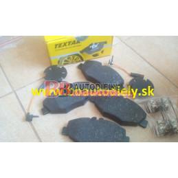 MERCEDES BENZ E W211 3/02-3/2009- Predné platničky SADA /TEXTAR/