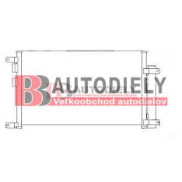 ALFA ROMEO 156 9/03- Chladič klimatizácie /pre všetky typy/