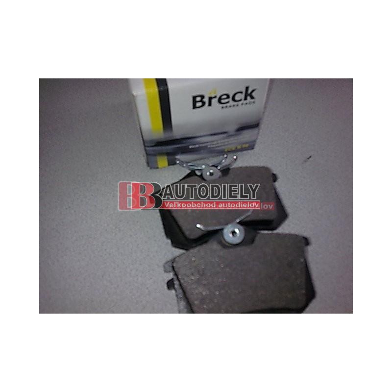 Audi A3 6/03- SADA Zadné platničky /BRECK/