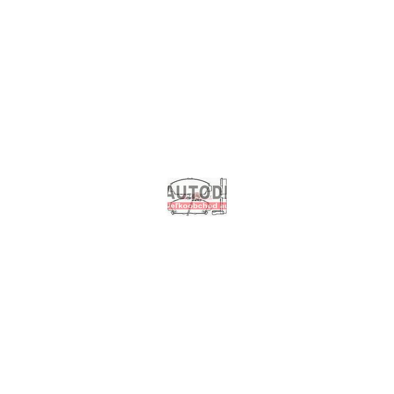 HONDA ACCORD 1/96-10/98- Predné platničky /BRECK/