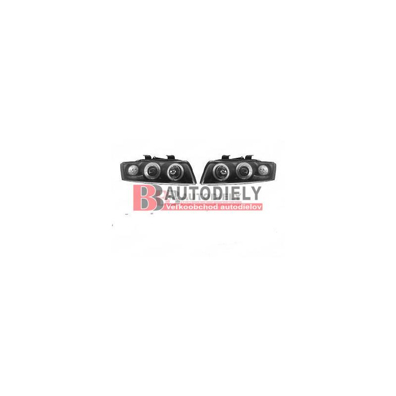 Audi A4 10/00-9/04- SADA Predné svetlá tuning L+P