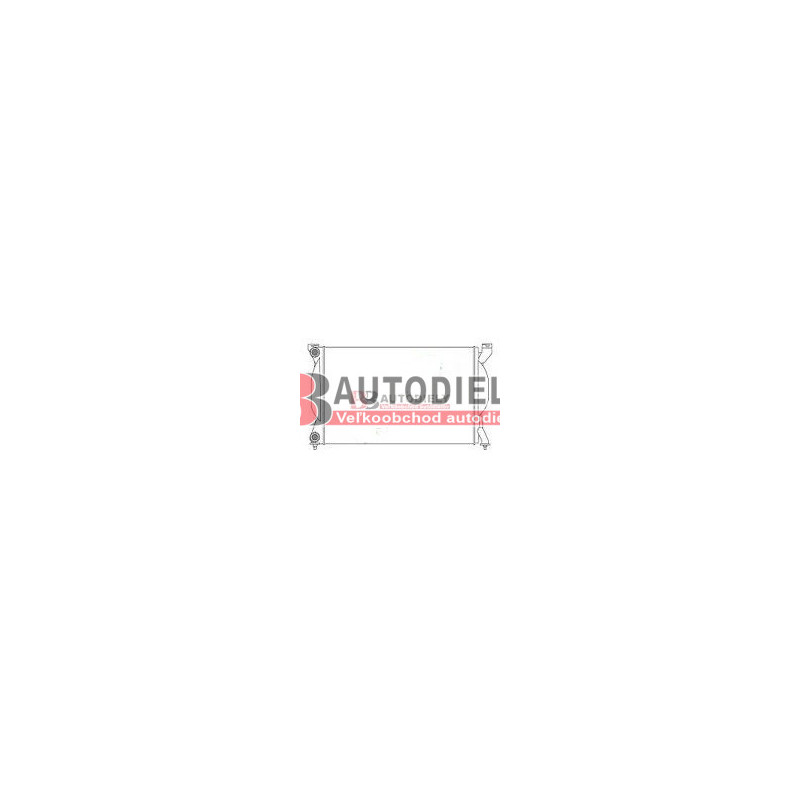 Audi A4 10/00-9/04- Chladič vody /1,6-1,8-1,9TDi-2,0/