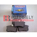 Audi A4 10/00-9/04- SADA Zadné platničky /SAMKO/