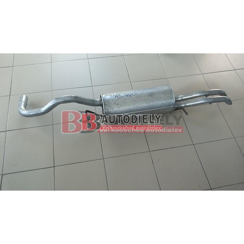 Audi A4 3/99-9/00- Zadný diel výfuku TDI/66-81-85KW/