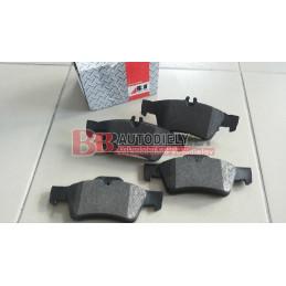 MERCEDES BENZ E W211 3/02-3/2009- Zadné platničky SADA /ABS/