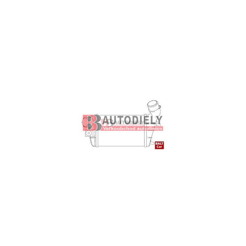 Alfa Romeo 147 10/00-04- Chladíč vzduchu /intercooler/