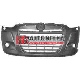 FIAT DOBLO 2/2010- Predný nárazník /s otvormi pre ostrekovače/