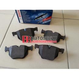 BMW X5 E70 2/07- Zadné platničky SADA /BOSCH/
