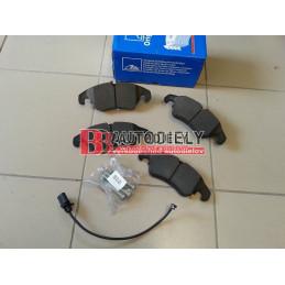 AUDI A5 6/07-2011- Predné platničky, Sada /Výrobca ATE/ -brzd systém TRW