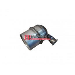 CITROEN C2 9/03-  Filter pevných častíc DPF  -1,6HDi -kovový /1731.EQ/
