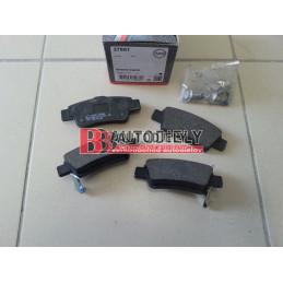 HONDA CRV 10/2012- Zadné platničky /A.B.S./