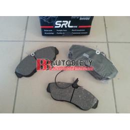 Predné platničky /výrobca SRL/- /1,8T/