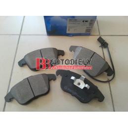 AUDI A5 6/07-2011- Predné platničky, Sada /Výrobca SAMKO/ -brzd systém ATE
