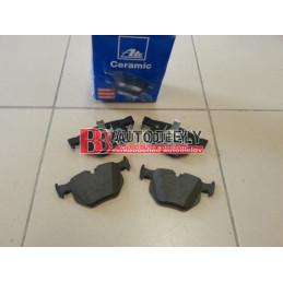 BMW X5 E70 2/07- Zadné platničky SADA /ATE/ CERAMIC