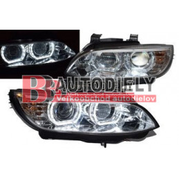 LAMPY P. ANGEL EYES BMW E92 06-10 D1S/H3 BEZ AFS