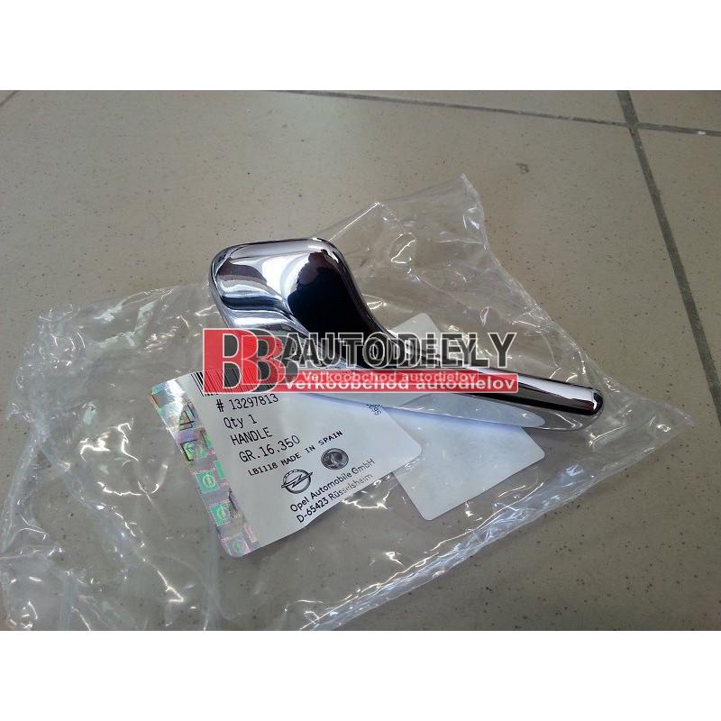OPEL CORSA D 1/2011 /Facelift/- Vnútorná klučka dverí, lavá /Originál diel/