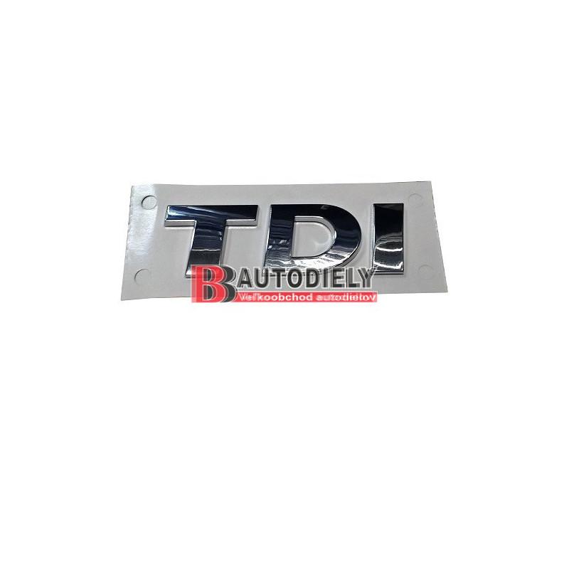 Zadný nápis TDI /originál diel/