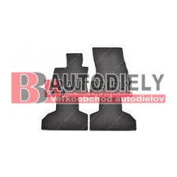 Gumové rohože čierne SADA 4ks
