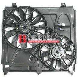 KIA SORENTO 5/02- Ventilátor chladiča -komplet /pre všetky typy/