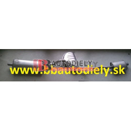 ALFA ROMEO 145 6/94-12/00- Zadný + Stredný diel výfuku 1,4i TS /76KW/-1,6TS /88KW/