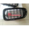 BMW 5 F10 3/2010- Predná maska, sada /čierno lesklá / M5 look