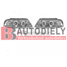 VW PASSAT B5+ 11/00-3/05- SADA Predné svetlá L+P /Tuning/