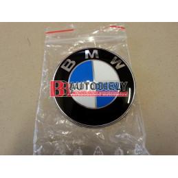 BMW E46 3 9/01-3/05- Predný Znak BMW /Originál diel/