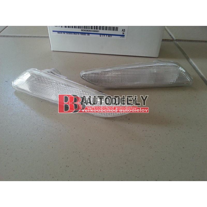 ALFA ROMEO 156 10/97-8/03- Bočné smerovky L+P SADA /biele/