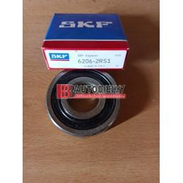 SKF ložisko 6206-2RS1