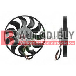 Audi A4 10/00-9/04- Ventilátor chladiča 1,9TDi-2,0i /Pravá strana/