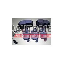 Audi A4 10/00-9/04- SADA Predné platničky /DELPHI/