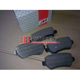 OPEL ASTRA H 3/04- SADA Zadné platničky /zn. A.B.S./