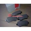 OPEL ZAFIRA 1/99-9/05- SADA Zadné platničky /zn. A.B.S./