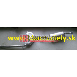 ALFA ROMEO 146 6/94-12/96- Zadný + Stredný diel výfuku 1,4i TS /66KW/-1,6TS /76KW/