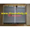 PEUGEOT 307 9/05- Chladič vodný 1,6HDI-2,0HDI s klimatizáciou