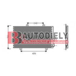 Alfa Romeo 145/146 6/94-3/99- Chladič klimatizácie