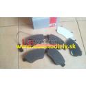 FIAT STILO 10/01- Predné platničky SADA /A.B.S/