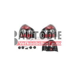 AUDI A3 9/00-5/03- Zadné svetlá SADA /Tunnig/ -priehladne čierne