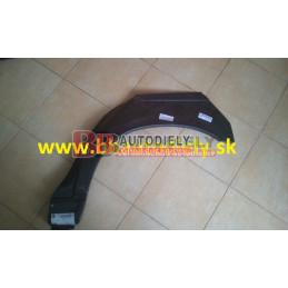 BMW 5 E34 2/88-11/95- Zadný blatník Lavý /SDN/