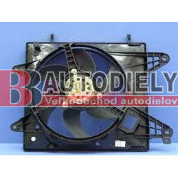 FIAT MULTIPLA 1/99-9/04- Ventilátor chladiča /1,6i 16V/
