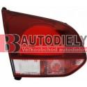 VW GOLF VI 11/2008- Zadné svetlo Lavé -vnútorné /šedá smerovka/ -GTi/GTD