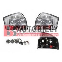 Audi A4 10/00-9/04- Zadné svetlá Tuning /SDN/ - LED