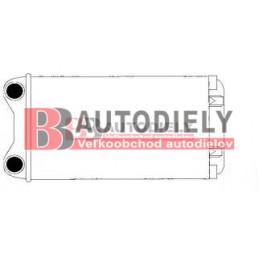 Audi A4 10/00-9/04- Radiátor kúrenia /pre všetky typy/