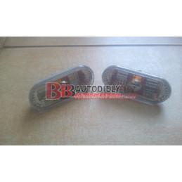 VW PASSAT B5+ 11/00-3/05- SADA Bočné smerovky L+P /biele/