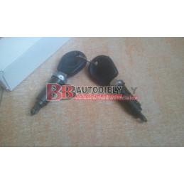 VW POLO 1/99-10/02- Predné zámky SADA + 2x klúč