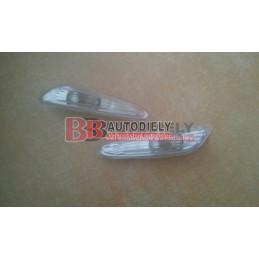 BMW 3 E46 9/01-3/05- SADA Bočné smerovky L+P /biele/
